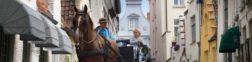 Bruges horse and carriage